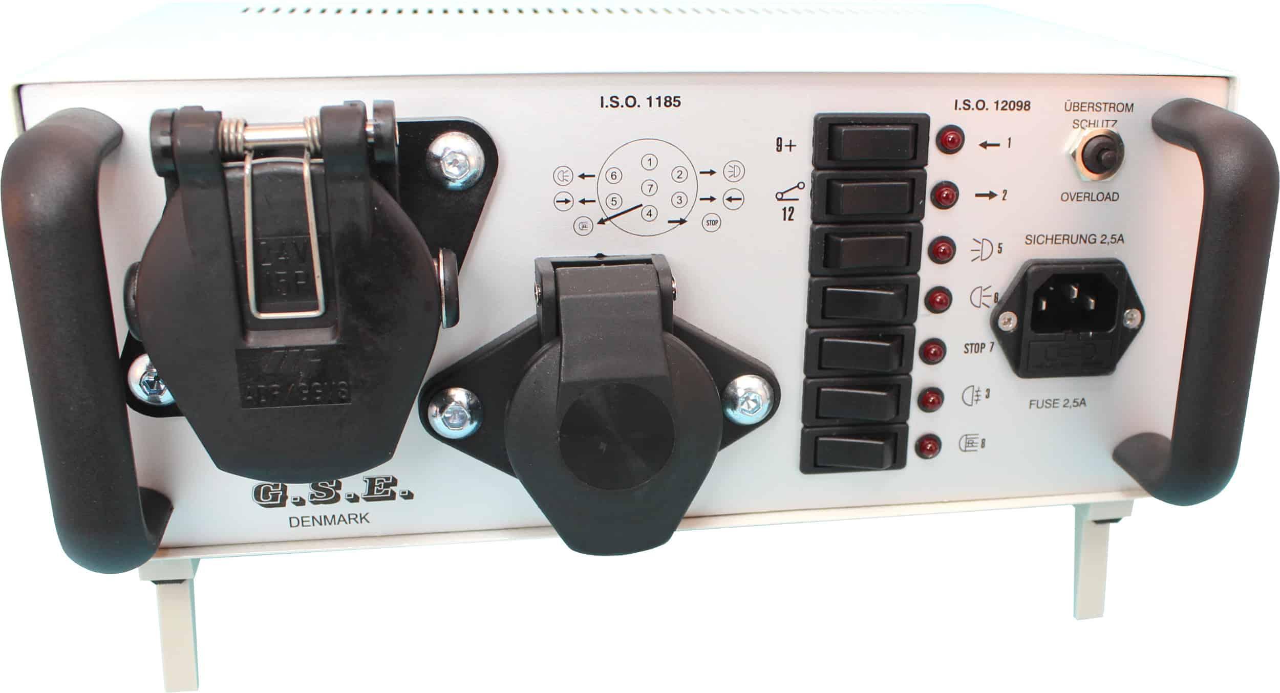Anhänger lichttester 24V 7-pol 15-pol Raco