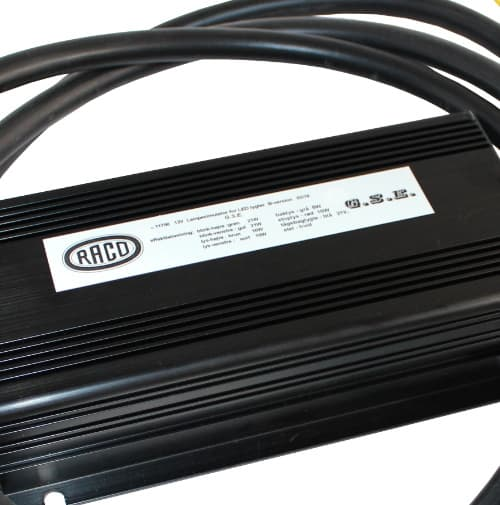 Lampen simulator anhänger 12V Raco