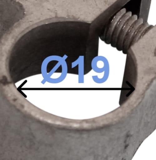 Batteri Polsko plus 19 mm Loddefri adapter til Ford 249000 RACO