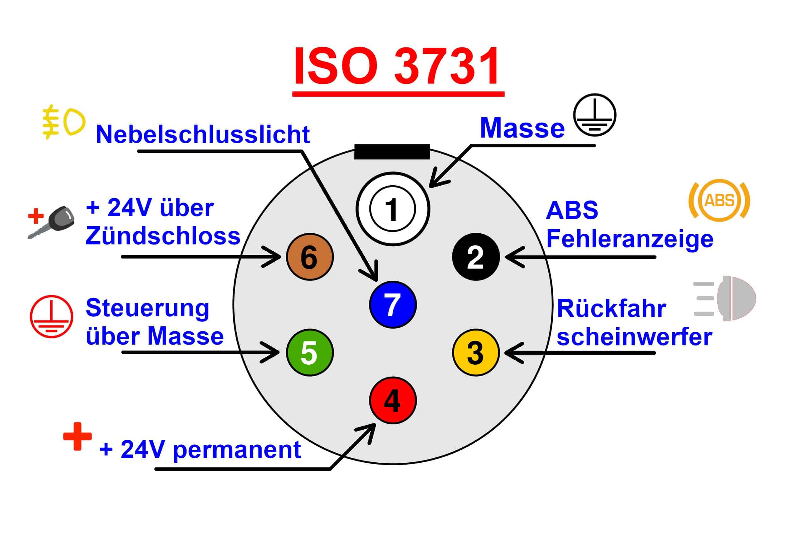 ISO 3731 Stecker Raco DE