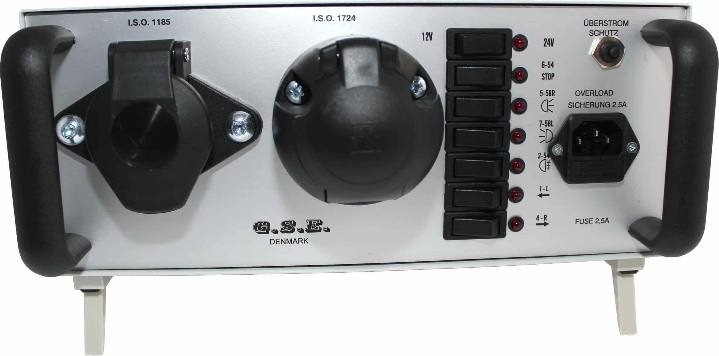 Anhänger Lichttester 12V 7-pol 24V 7-pol Raco