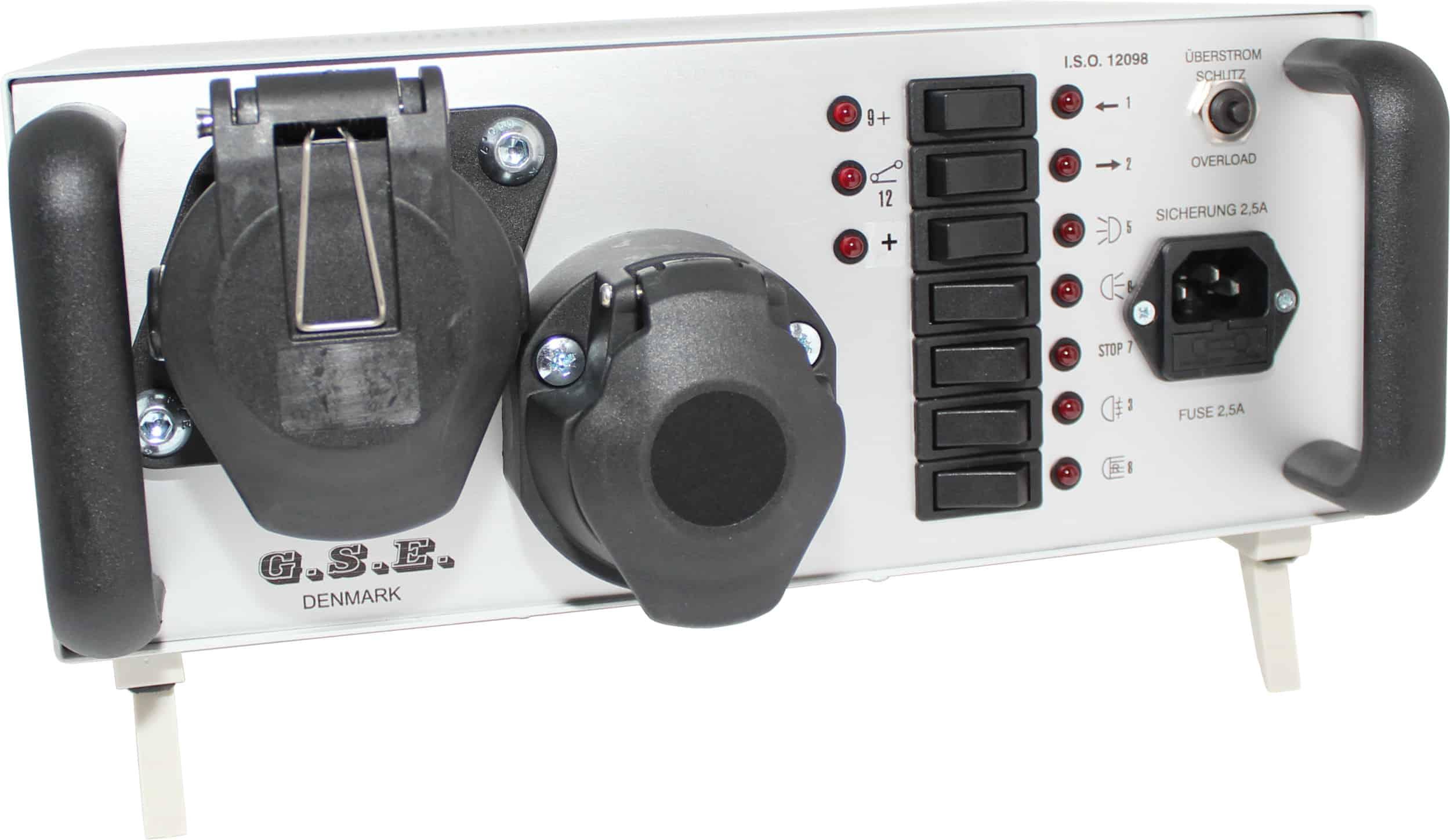 Anhänger lichttester 12V 13-pol 24V 15-pol Raco