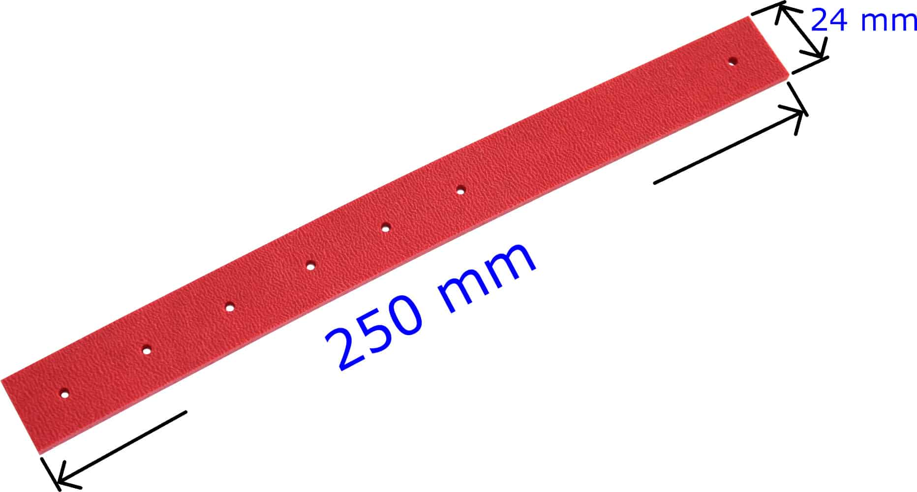 Rubber strap red Pedal pressure gauge Spare parts A731200 Raco