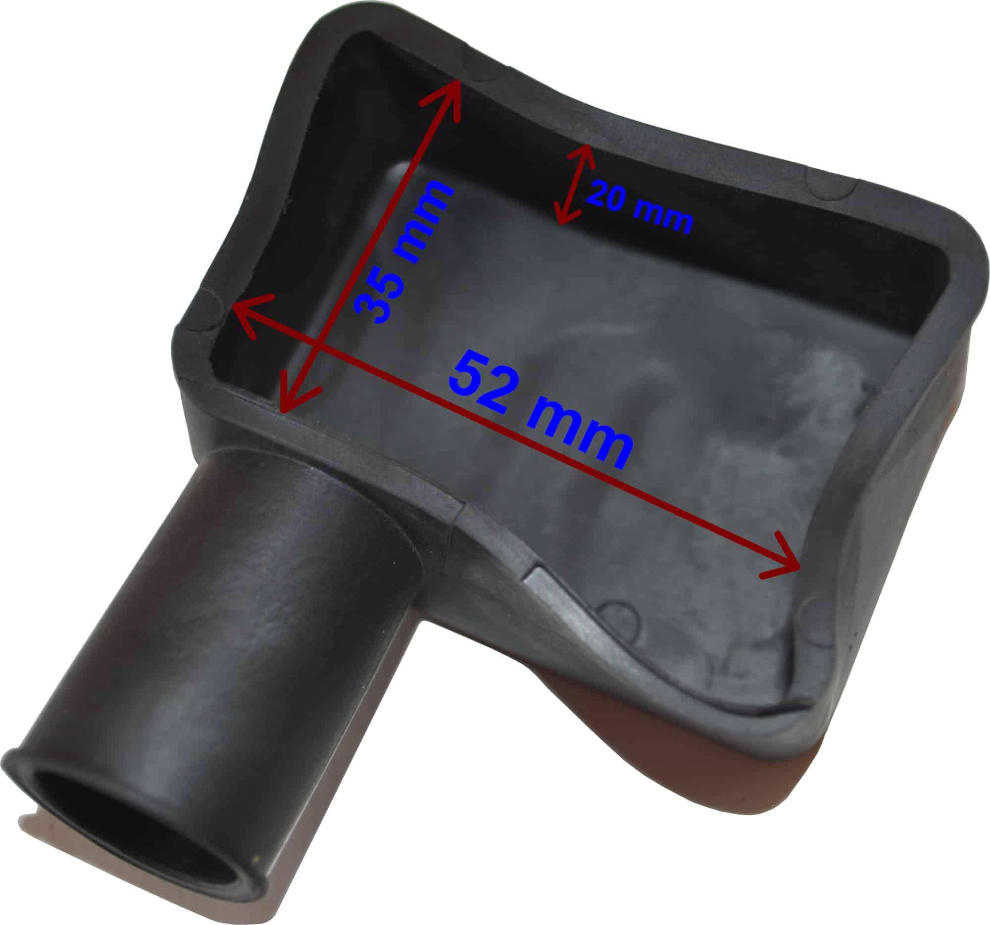 Abdeckung für Batterie pol klemmen Schutzkappe Schwarz 020290N RACO