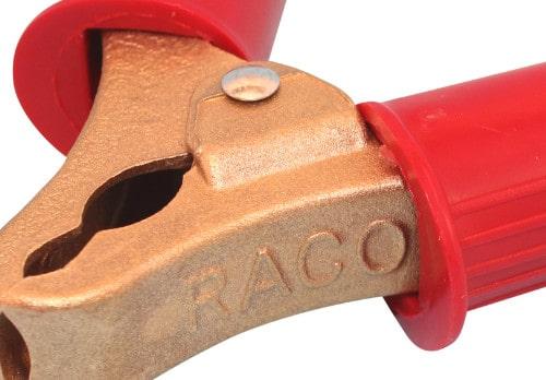 Ladeklemme ladetang batterie klemme rød 901000 RACO