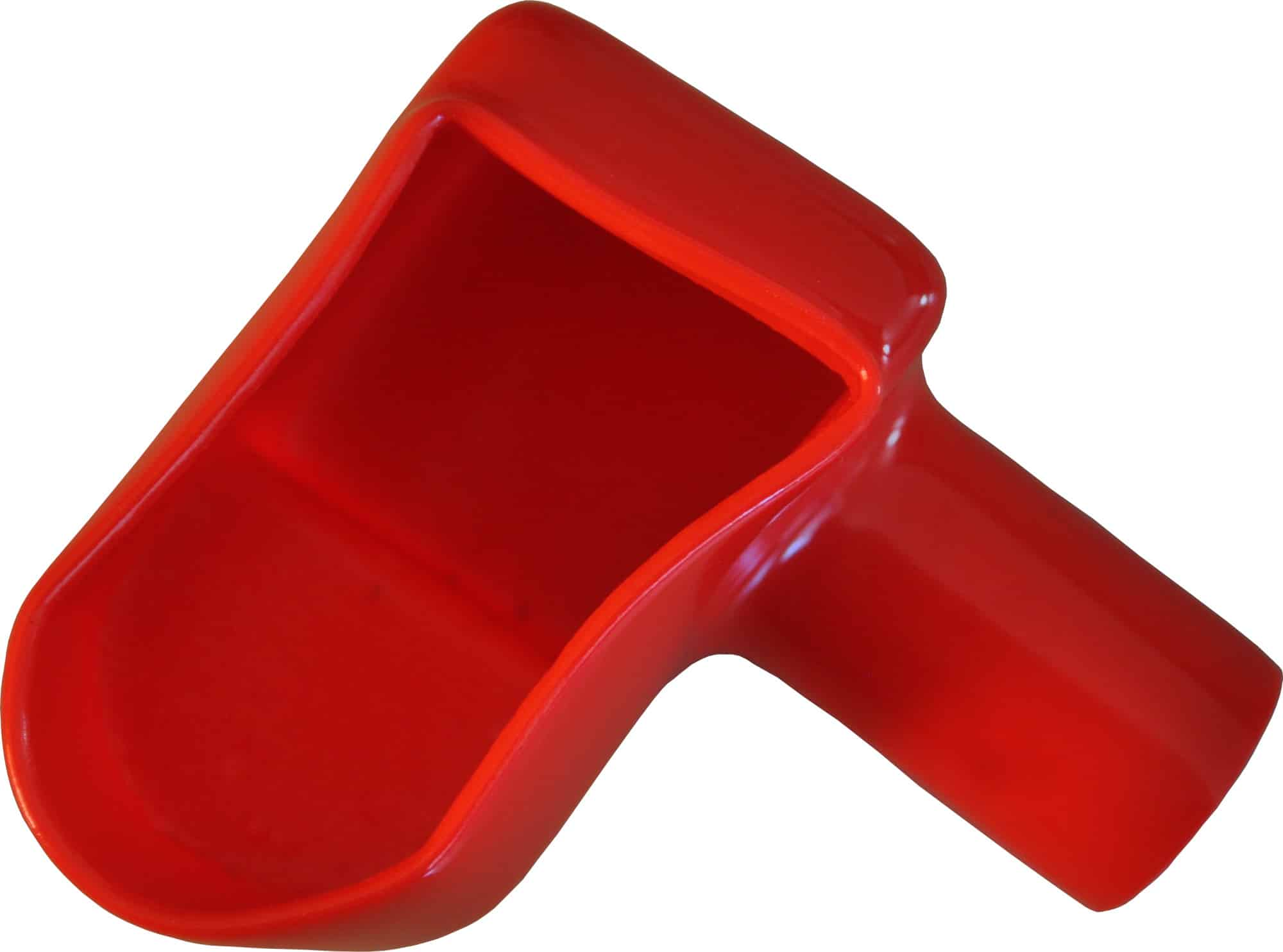 Kappe hætte til batteri polsko rød bil lastbil motorcykel scooter traktor camping beskyttelseskappe støvkappe 020293R RACO
