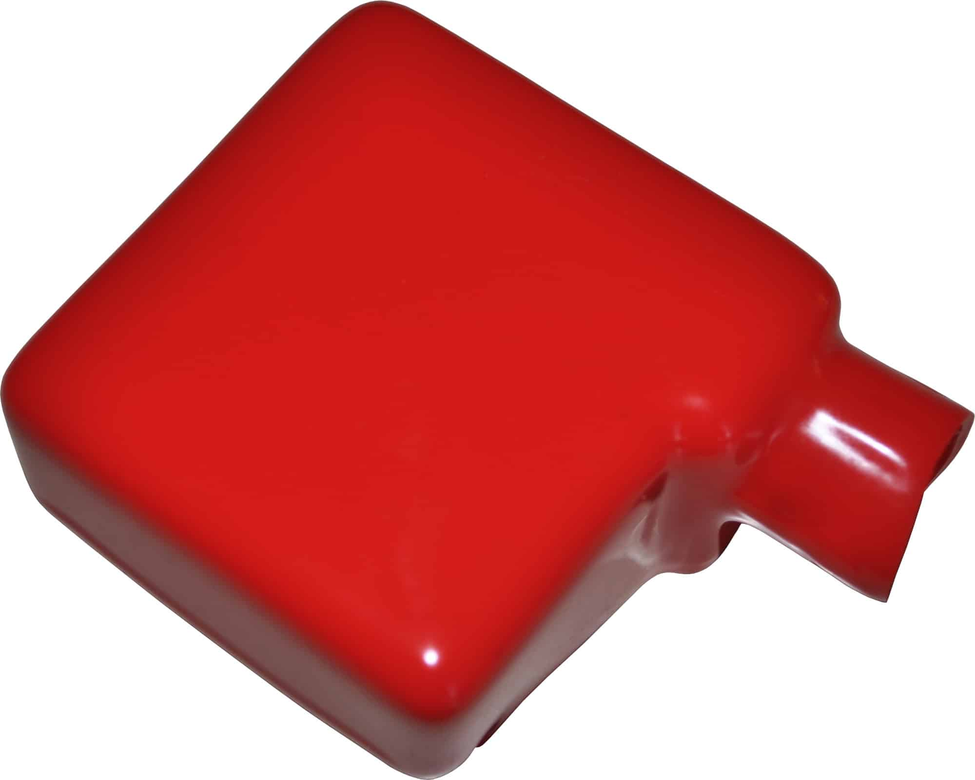 Kappe hætte beskytter til batteri polsko batteripol rød bil lastbil motorcykel scooter traktor camping beskyttelseskappe støvkappe 020296R RACO