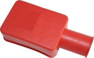 Kappe hætte til batteri polsko rød Top Menu beskyttelseskappe støvkappe 020291R RACO