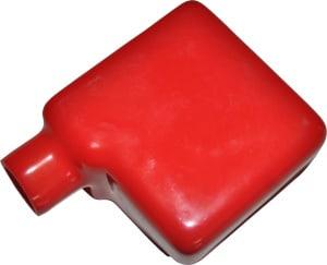 Kappe hætte til batteri polsko rød Top Menu beskyttelseskappe støvkappe 020295R RACO