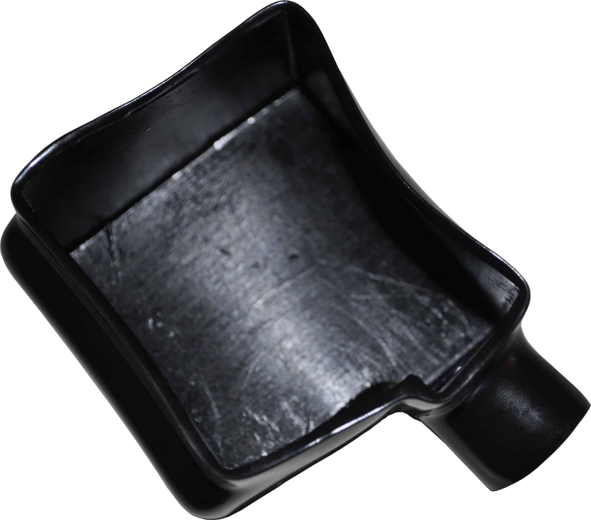 Kappe hætte beskytter til batteri polsko batteripol sort bil lastbil motorcykel scooter traktor camping beskyttelseskappe støvkappe 020295N RACO